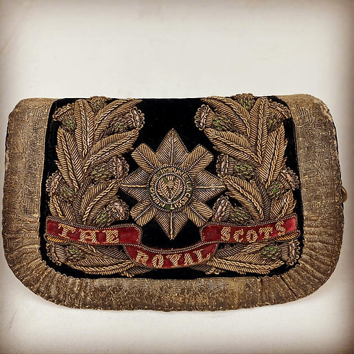 Victorian Royal Scots Field Officers Full Dress Pouch