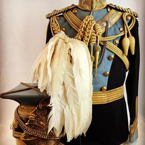 Victorian 21st Lancers Officers Uniform