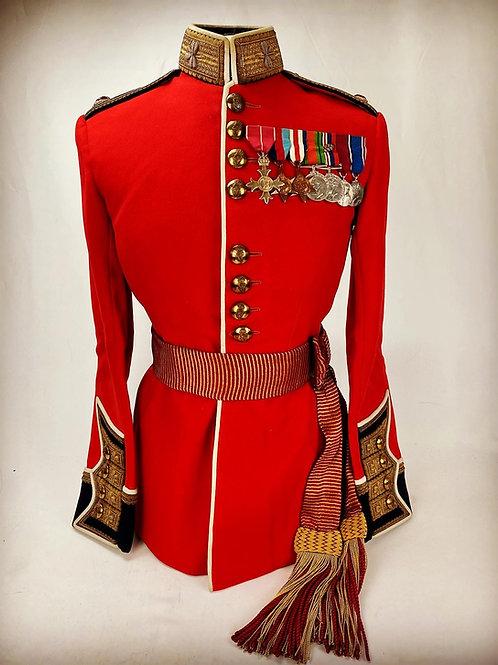 Irish Guards Officers Uniform - D Day MID Recipient - Lt Col TG Lindsay OBE