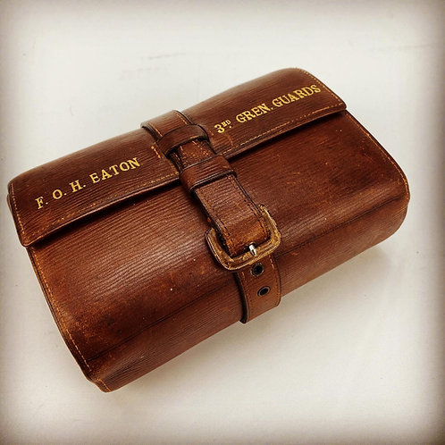 Great War Grenadier Guards Personal First Aid Kit - Captain FOH Eaton DSO 3rd Bn