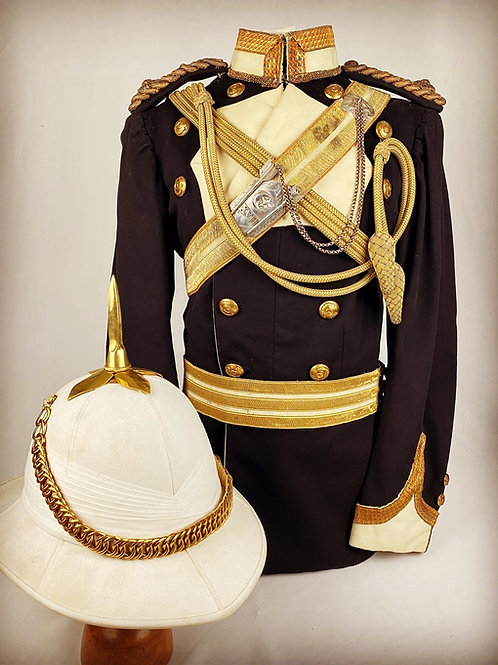 Edwardian 17th Bengal Cavalry Officers European Style Uniform
