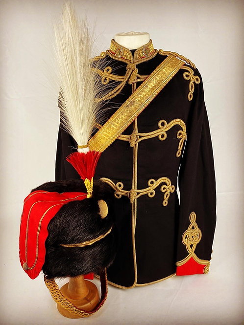 Victorian Ayrshire Yeomanry Cavalry Officers Uniform