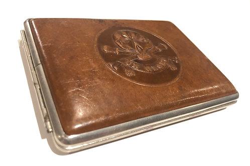 17th Lancers Boer War period Cigarette case
