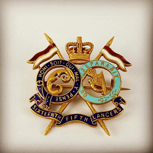 16th/5th Regimental Sweetheart Brooch