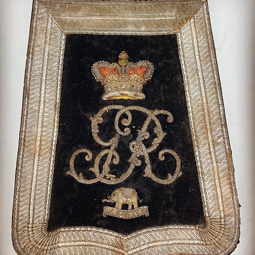 25th Light Dragoons Officers Sabretache - 1819
