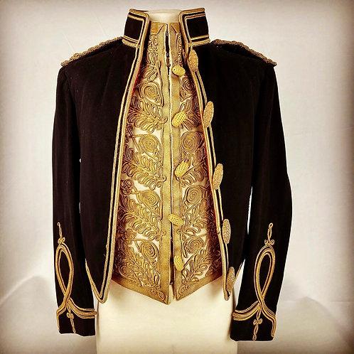 Victorian 19th Queen Alexandra's Own Hussar Officers mess Dress