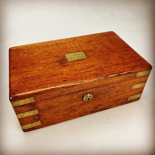 Grenadier Guards Officers Personal Cigar Humidor - Captain Gascoigne