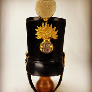 Royal Welch Regiment Officers Albert Pattern Shako
