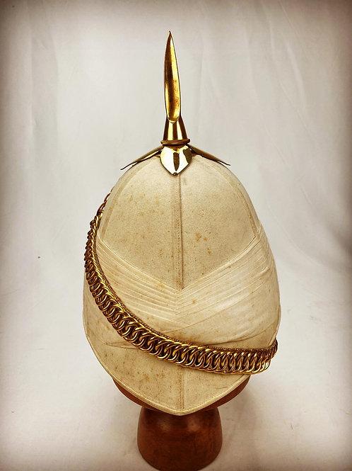 Victorian 15th Cureton's Multanis Bengal Lancers Officers Foreign Service Helmet