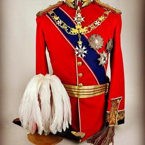Edwardian Field Marshals Full Dress Uniform