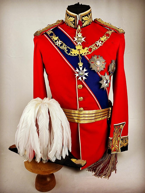 Edwardian Field Marshal Full Dress Uniform