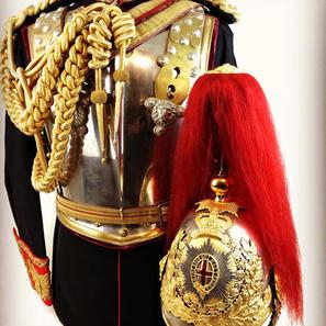 Victorian Royal Horse Guards Officers Uniform