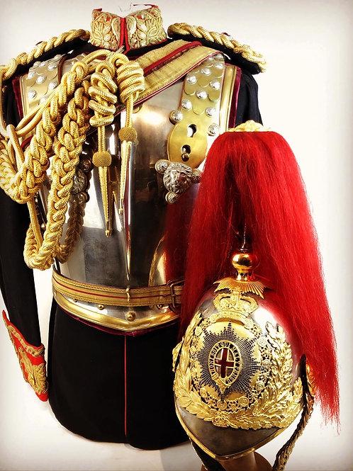Victorian Royal Horse Guards Uniform - Lt Colonel David Milne-Home