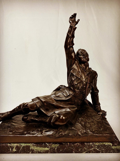 "Bernie Rhind Emotive Fettes College ""Carry on"" Bronze"