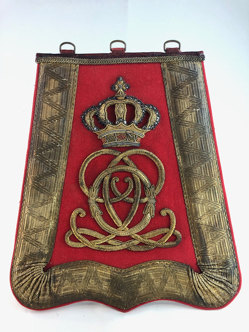 Victorian 7th Queens Own Hussars Officers Sabretache