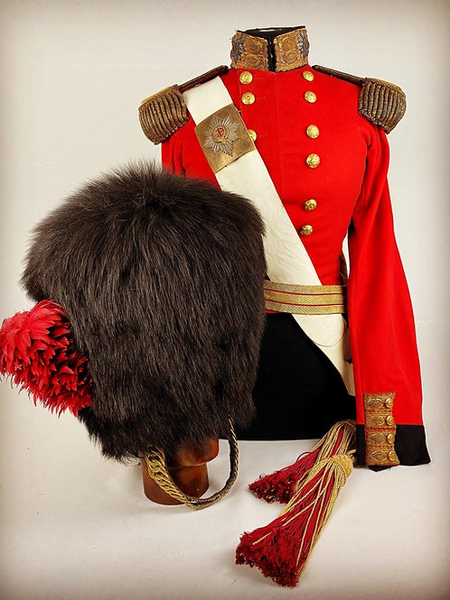 Crimean Coldstream Guards Officers Uniform - Lt The Hon William Amherst