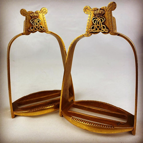 Victorian 1st Life Guards Officers State Occasion Stirrups