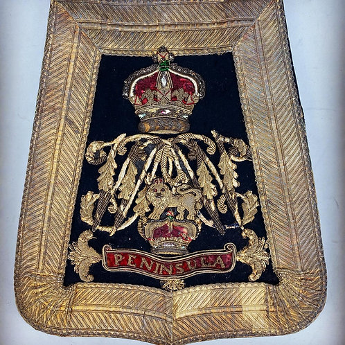 14th Light Dragoons Officers sabretache - 1830