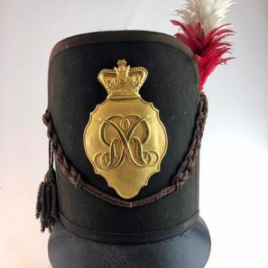 1812 Pattern Officers Belgic Shako