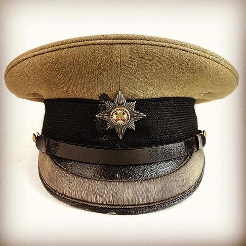 Irish Guards Great War Officers Forage Cap - Captain WC Mumford MC