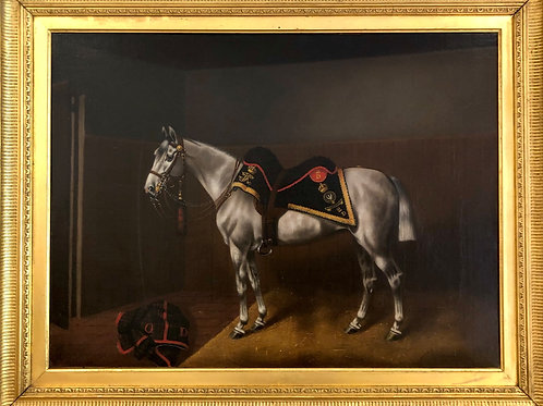 Victorian Royal Scots Greys Officers Charger