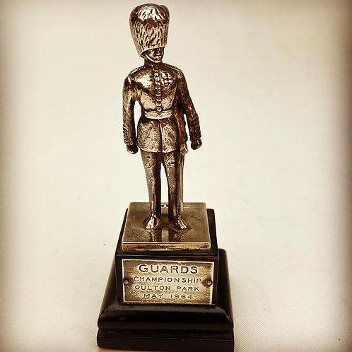 Silver Grenadier Guards Statue