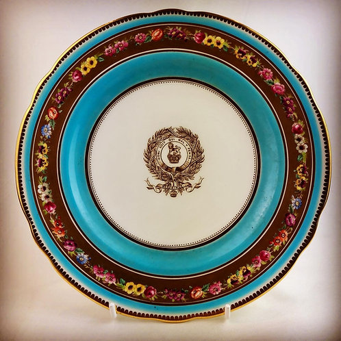 Victorian 15th Kings Hussars Regimental Officers Mess Plate