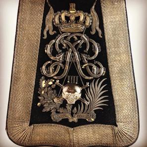 1829 17th Lancers Officers Sabretache