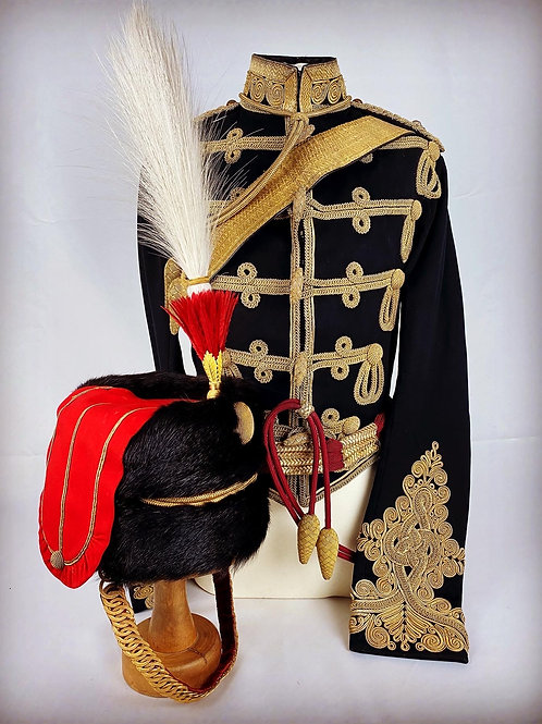 Victorian South Notts Hussars Officers Uniform