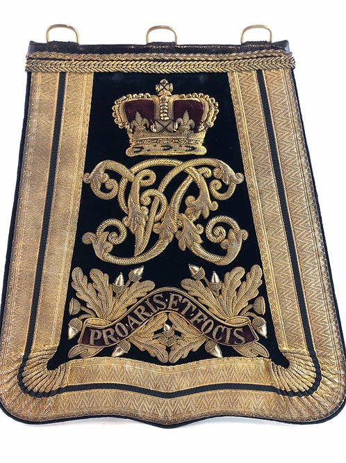 Victorian Middlesex Yeomanry Cavalry Officers sabretache