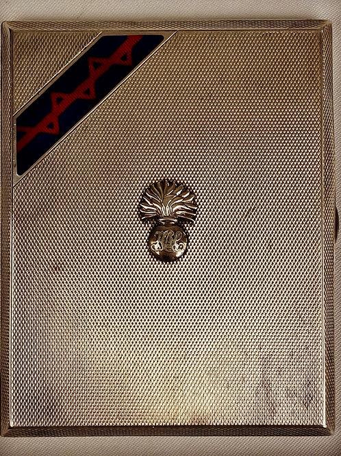Honourable Artillery Company HM Silver Cigarette case
