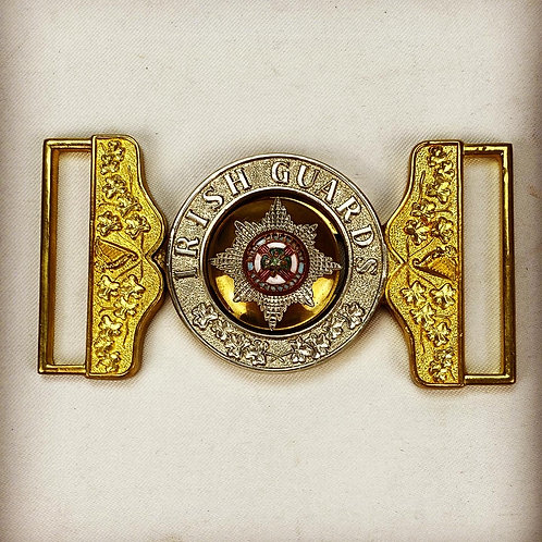EIIR Irish Guards Warrant Officers Waist Belt Clasp