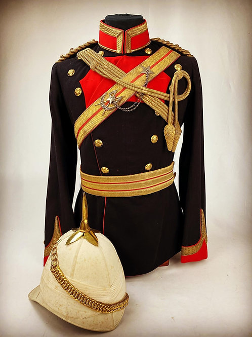 Victorian 15th Bengal Lancers Officers Uniform