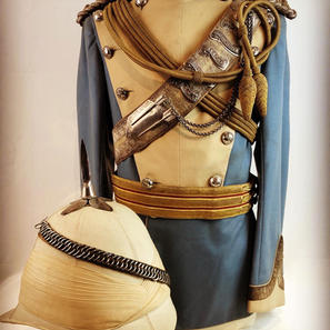 27th Madras Light Cavalry Officers Uniform