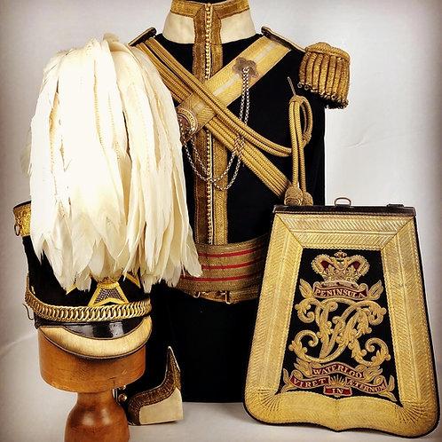 Crimean War Period 13th Light Dragoons Officers Uniform