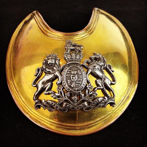 Coldstream Guards Officers Gorget 1806 - Lt William Lovelace Walton