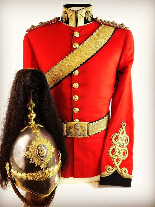 Victorian 1st or Royal Dragoons Officers Uniform