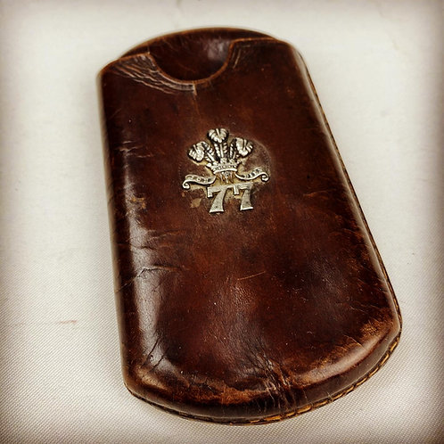 Victorian Middlesex Regiment Officers Cheroot Case