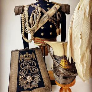 1829 17th Lancers Officers Uniform