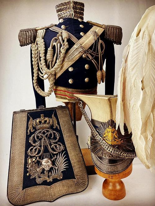 1829 17th Lancers Officers Uniform - Lt John Brackenbury