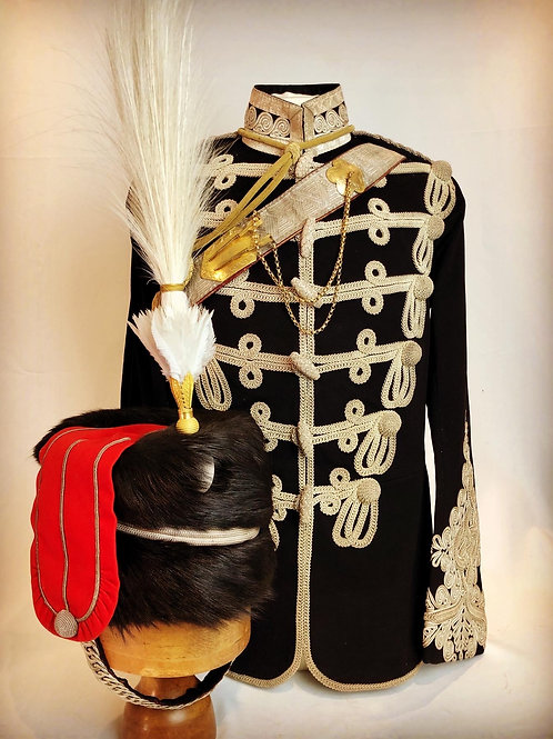 Victorian Northumberland Hussars Officer Uniform - Major EF Riddell