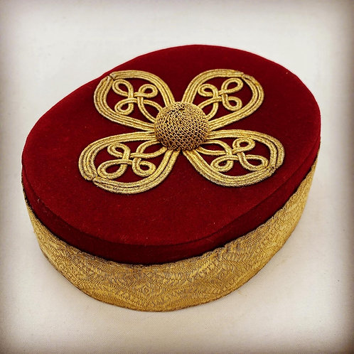 11th Prince Alberts Own Hussars Officers Pillbox Cap