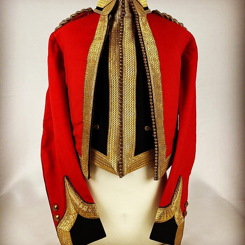 Victorian 16th Queen's Lancers Field Officers Mess Dress