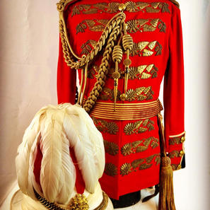 ADC to the Viceroy Officers Uniform