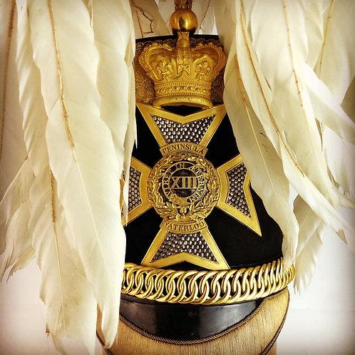 Crimean 13th Light Dragoons Officer Shako