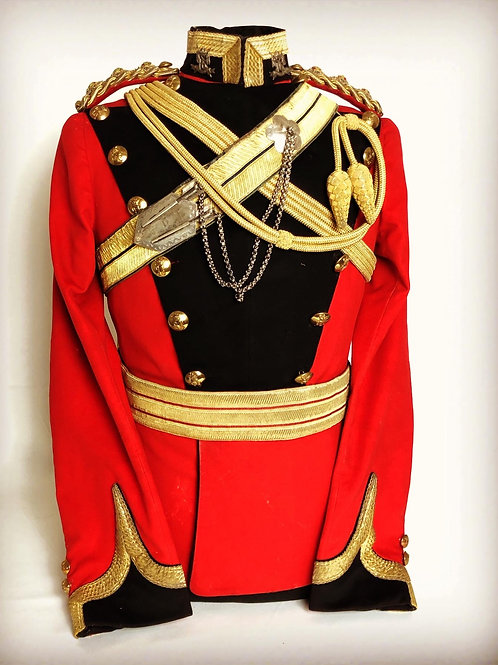 16th Queen's Lancers Officers Uniform - Captain Lord HolmPatrick