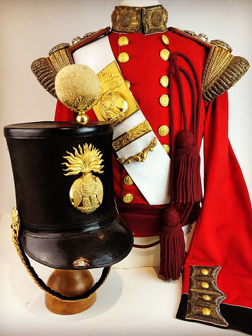 Victorian 87th Foot Officers Uniform