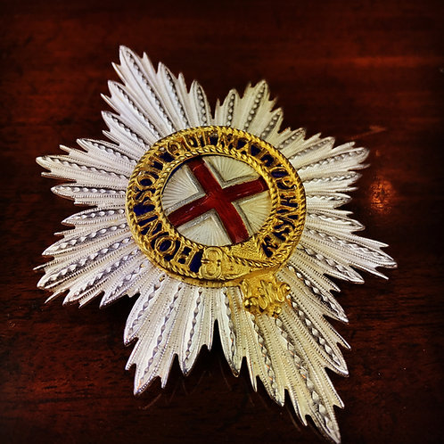 Victorian Coldstream Guards Pagri badge