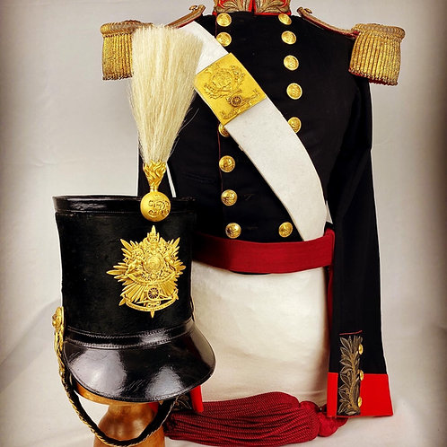 Crimean Royal Artillery Officers Coatee Uniform
