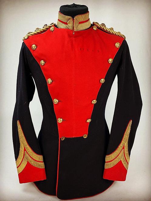 Victorian 12th Lancers Colonels Field Rank Full Dress Tunic